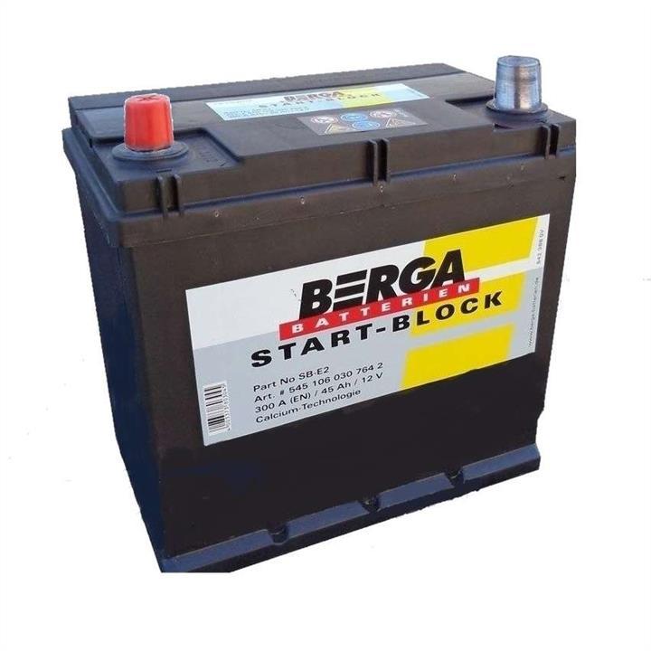 Батарея аккумуляторная Berga 12В 45Ач 300A(EN) L+