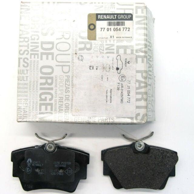 Колодки тормозные дисковые, комплект Renault 77 01 054 772