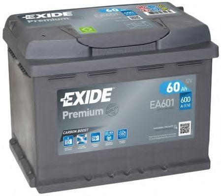 Батарея аккумуляторная Exide Premium 12В 60Ач 600A(EN) L+