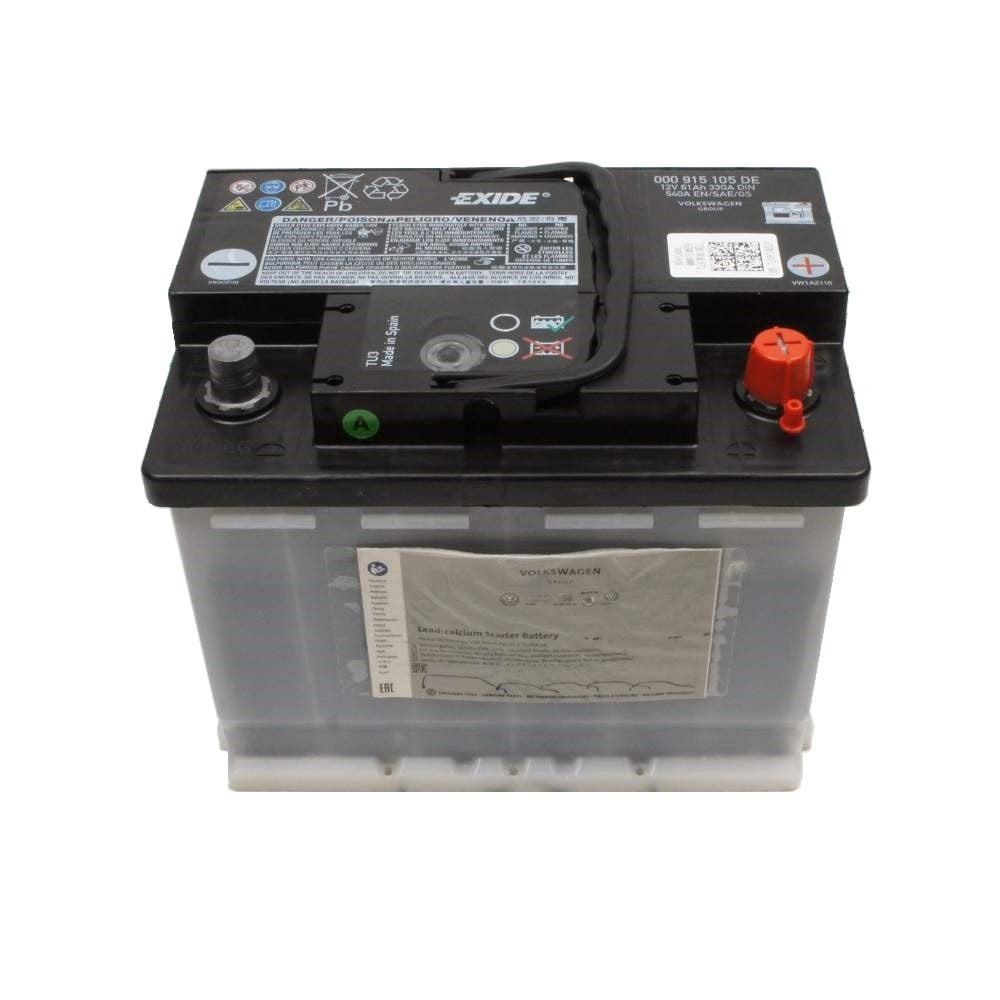 Батарея аккумуляторная VAG 12В R+ VAG 000 915 105 DE