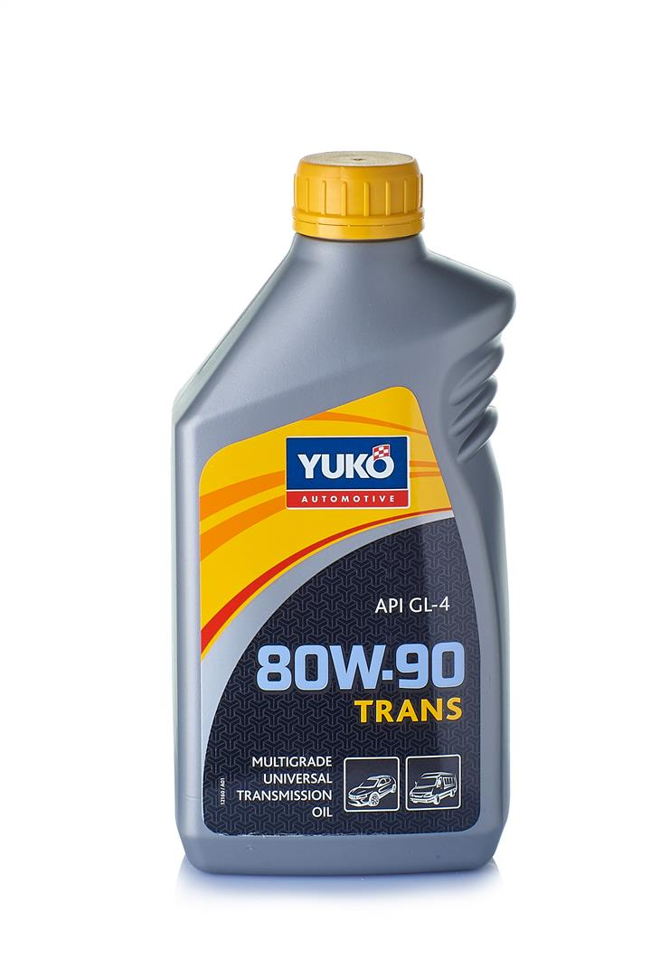 Масло трансмиссионное YUKO Trans 80W-90 Api Gl-4, 1 л