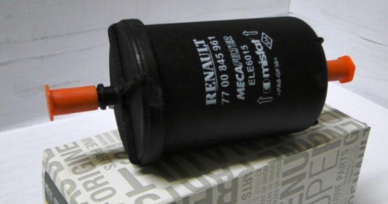 Фильтр топливный Renault 77 00 845 961