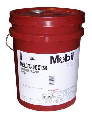 Масло редукторное Mobil MobilGear 600 XP 220, 20 л