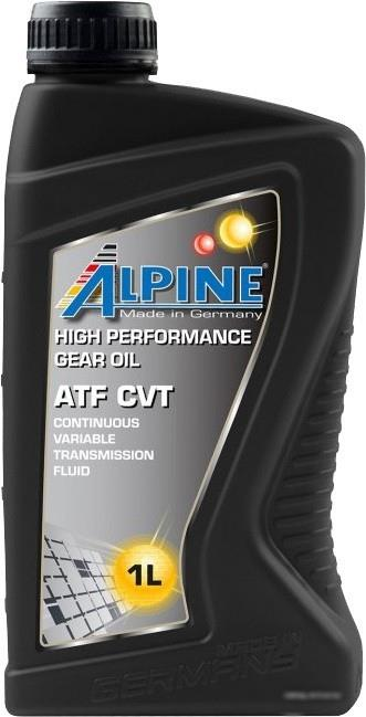 Масло трансмиссионное ALPINE ATF CVT, 1 л