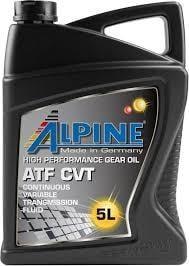 Масло трансмиссионное ALPINE ATF CVT, 5 л