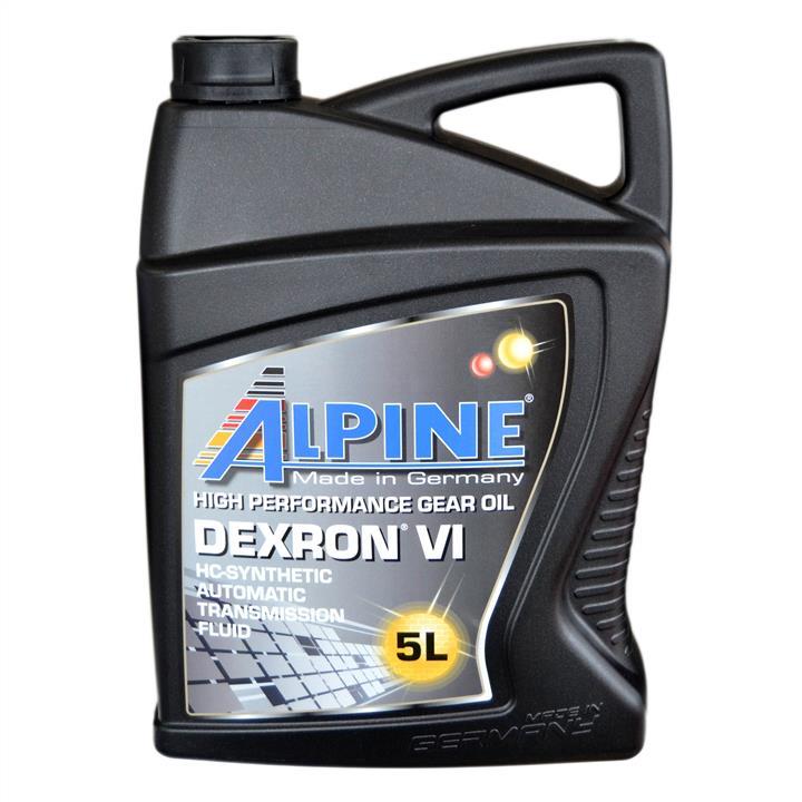 Масло трансмиссионное ALPINE ATF ATF Dexron VI, 5 л