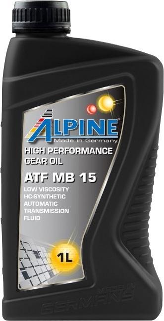 Масло трансмиссионное ALPINE ATF MB 15, 1 л