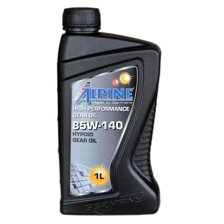 Масло трансмиссионное ALPINE Gear Oil 85W-140, 1 л