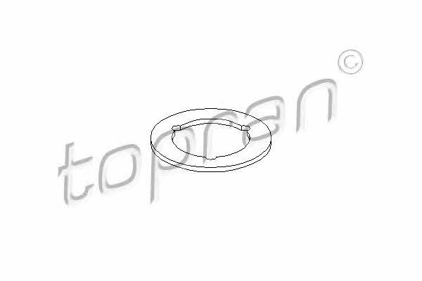 Кольцо уплотнительное крышки маслозаливной горловины