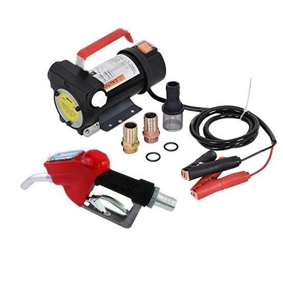 Установка для перекачки дизеля (насос, топливный пистолет со счетчиком, шланги)