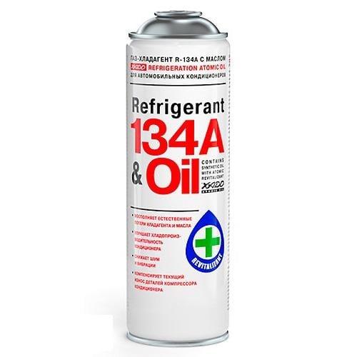 """Газ-хладагент """"REFRIGERANT 134a Oil"""", 650 мл Xado XA 60102"""