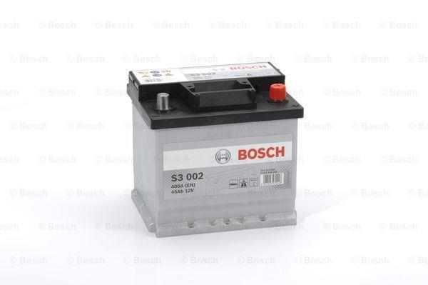 Батарея аккумуляторная Bosch S3 002 12В 45Ач 400A(EN) R+ Bosch 0 092 S30 020