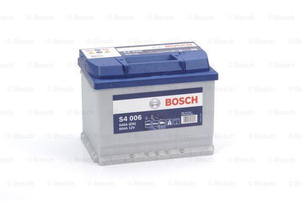 Батарея аккумуляторная Bosch S4 006 12В 60Ач 540A(EN) L+