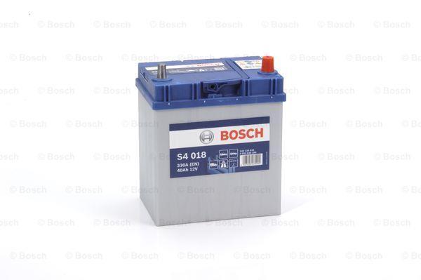 Батарея аккумуляторная Bosch S4 018 12В 40Ач 330A(EN) R+