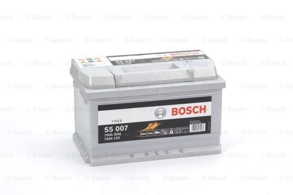 Батарея аккумуляторная Bosch S5 007 12В 74Ач 750A(EN) R+