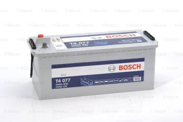 Батарея аккумуляторная Bosch T4 077 12В 170Ач 1000A(EN) L+