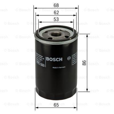 Фильтр масляный Bosch 0 451 103 276 - фото 5