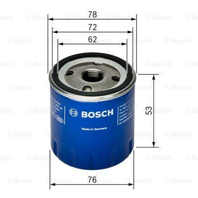 Фильтр масляный Bosch 0 451 103 336 - фото 11