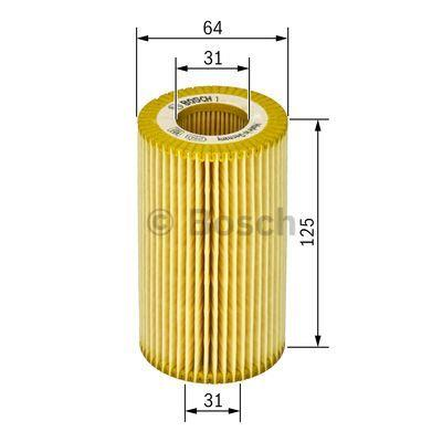 Фильтр масляный Bosch 1 457 429 243 - фото 6