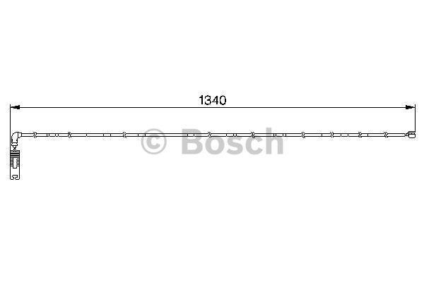 Датчик износа тормозных колодок Bosch 1 987 474 944 - фото 13