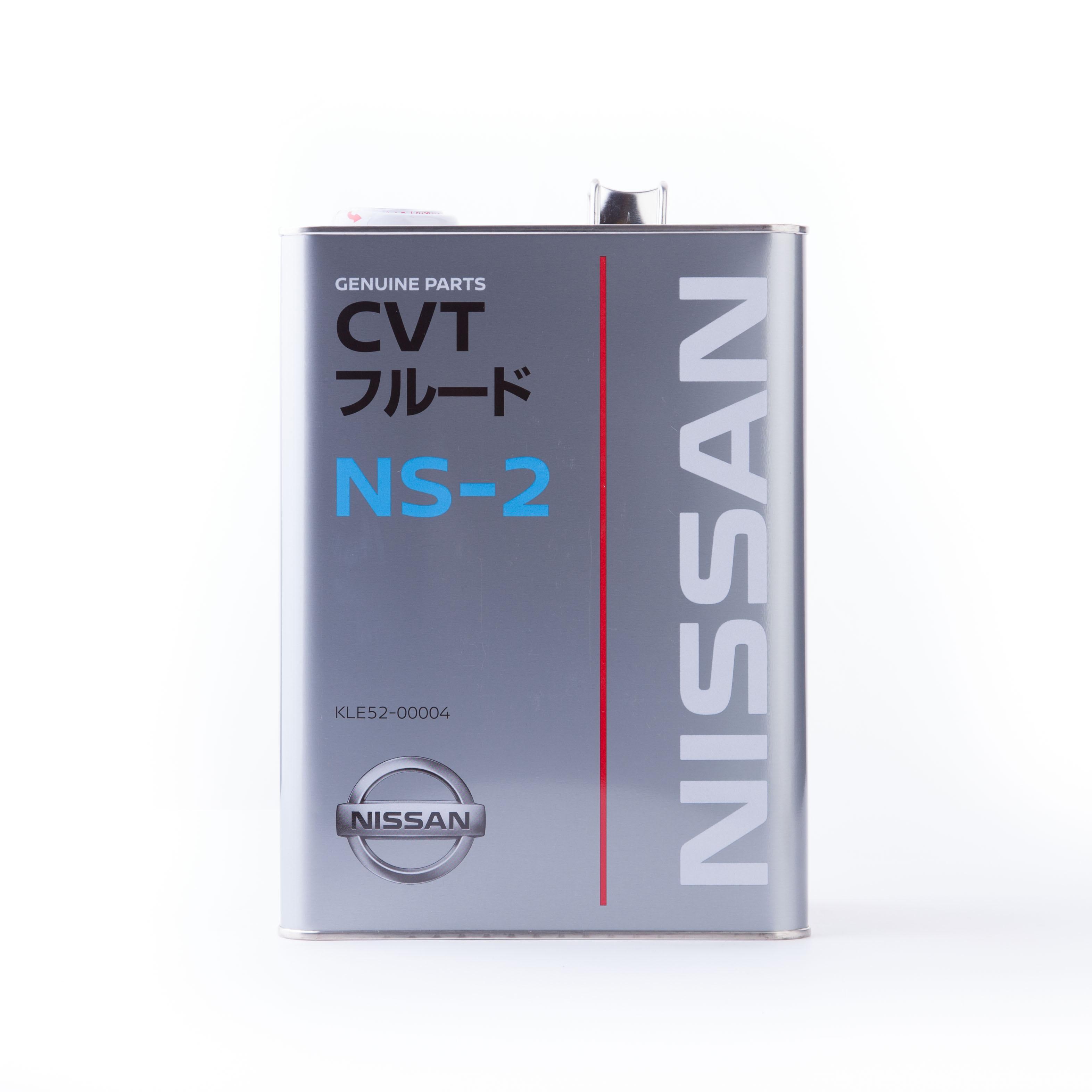 Масло трансмиссионное Nissan CVT NS-2, 4 л Nissan KLE52-00004
