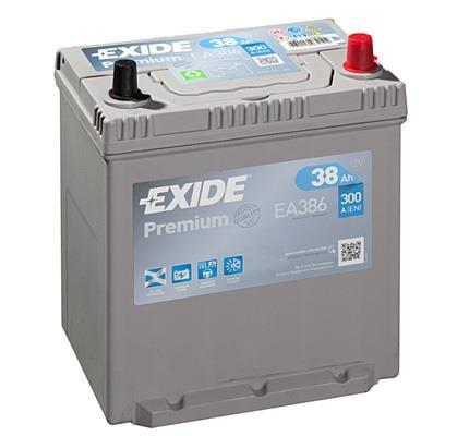 Батарея аккумуляторная Exide Premium 12В 38Ач 300A(EN) R+