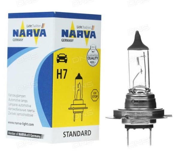 Лампа галогенная Narva Standard H7 12V 55W
