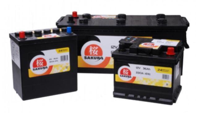 Батарея аккумуляторная Sakura 12В 40Ач 340A(EN) R+