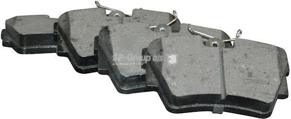 Комплект тормозных колодок, дисковый тормоз Jp Group 1263701610