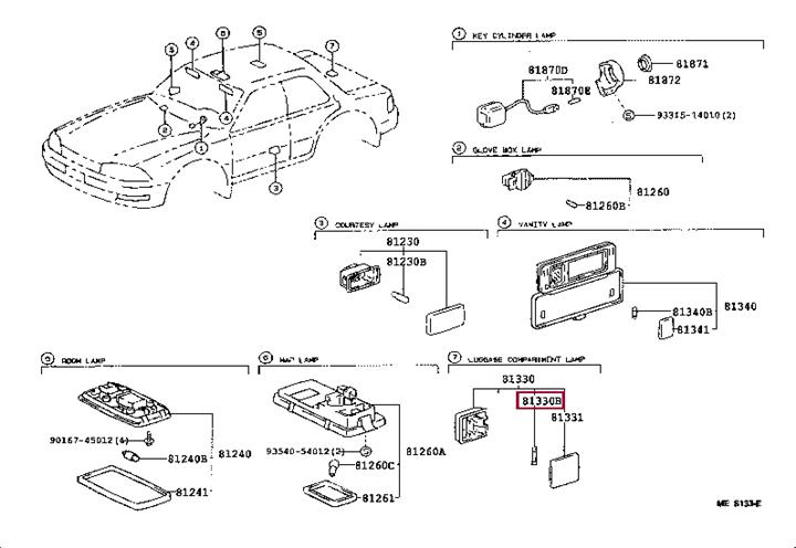 Toyota 90981-14009