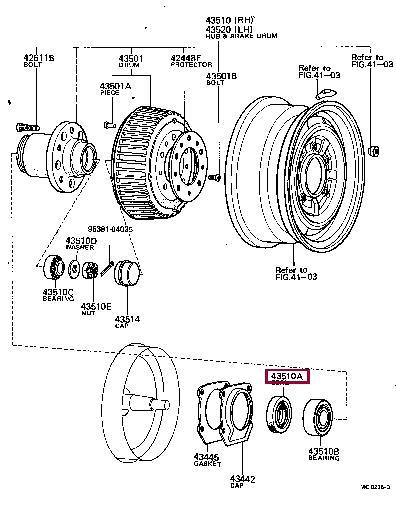 Прокладка Toyota 90311-48001
