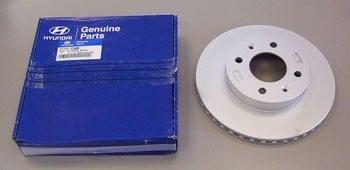 Диск тормозной Hyundai/Kia 51712 2K100