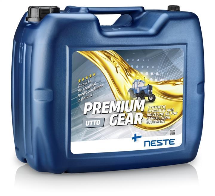 Масло трансмиссионное Neste Premium Gear UTTO, 20 л