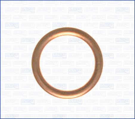 Кольцо уплотнительное пробки маслосливной Ajusa 18001200 - фото 3