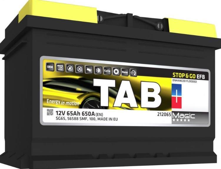Батарея аккумуляторная Tab 212065