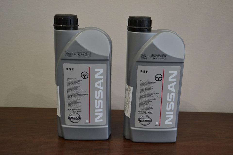 Масло гидравлическое Nissan PSF, 1 л