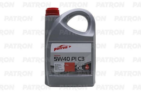Масло моторное Patron Original Pi C3 5W-40, 4 л