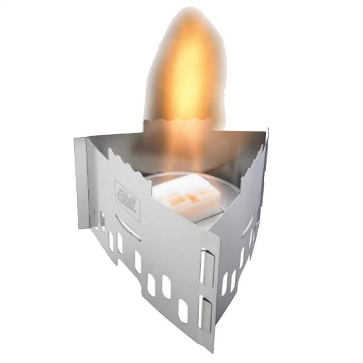 Горелка твердотопливная Esbit CS75S (120х110х10мм), нержавеющая сталь