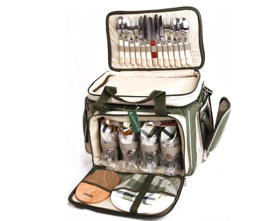 """Набор для пикника Ranger """"Скаут"""" HB4-533 (посуда на 4 персоны + сумка с термо-отсеком) Ranger 234-1010"""