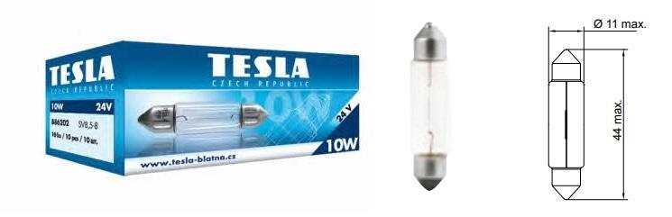 Лампа розжарювання C10W 24V 10W