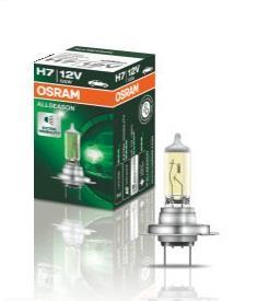 Лампа галогенная Osram Off-Road AllSeason H7 12V 55W