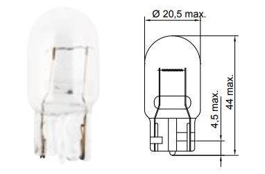 Лампа накаливания W21W 12V 21W