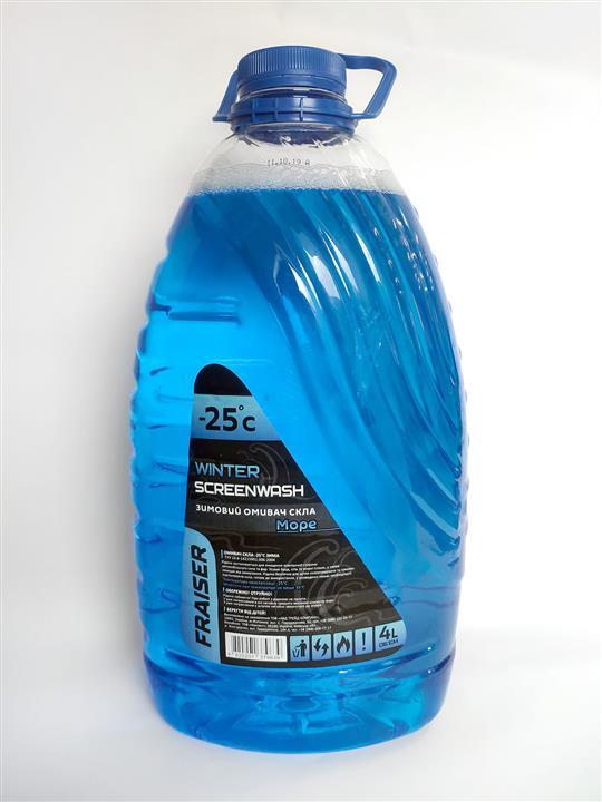 Жидкость омывателя стекла зимняя, аромат Море -25°C, 4 л