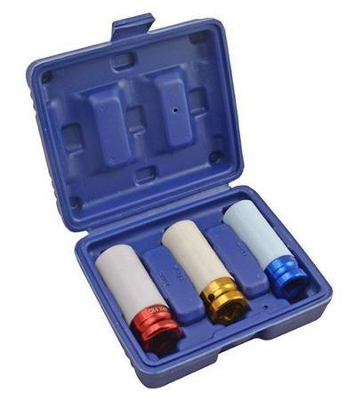 Комплект муфт долгих для алюминиевых колесных дисков - 21,19,17 - 3шт