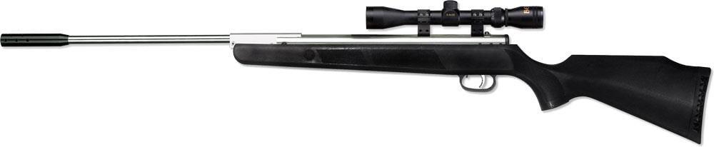 Винтовка пневматическая с оптическим прицелом Beeman Silver Kodiak X2 (4х32, 4.5мм) Beeman 1077