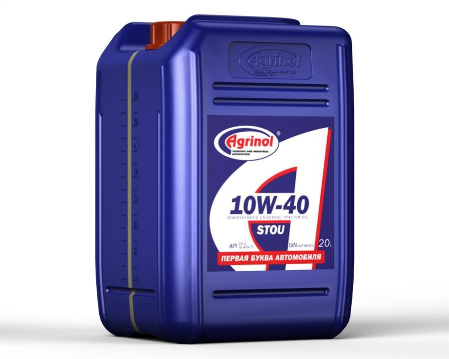 Масло трансмиссионное Agrinol STOU 10W-40, 20 л