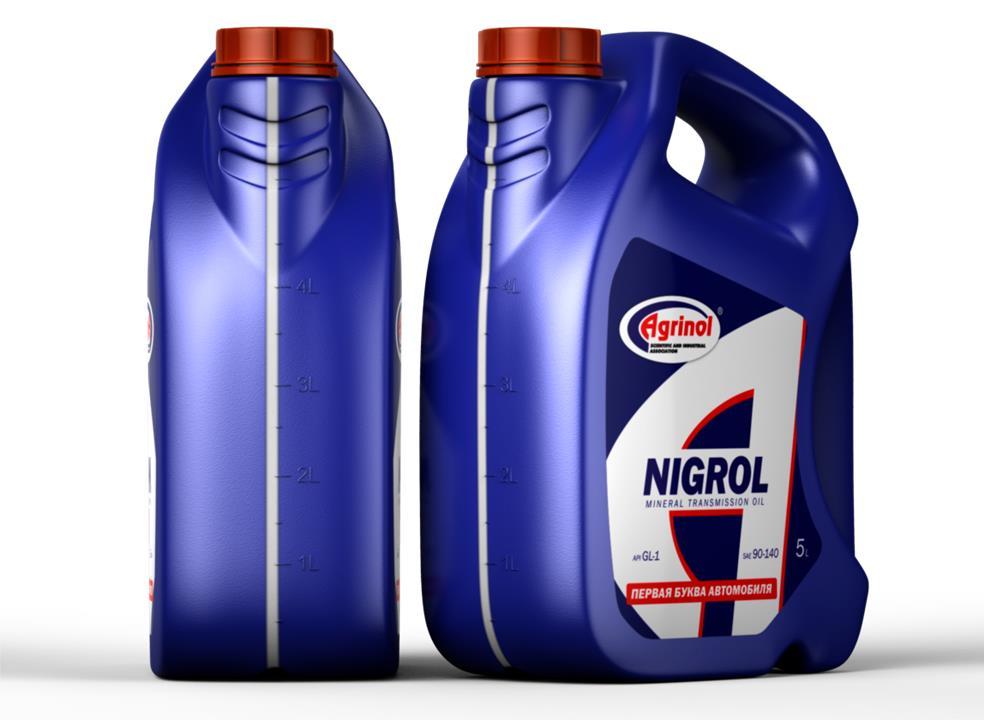Масло трансмиссионное Agrinol Нигрол, 5 л