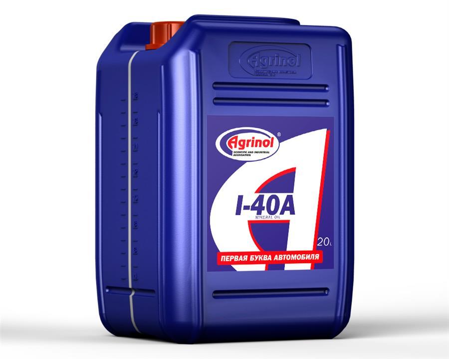 Масло индустриальное Agrinol И-40А, 20 л