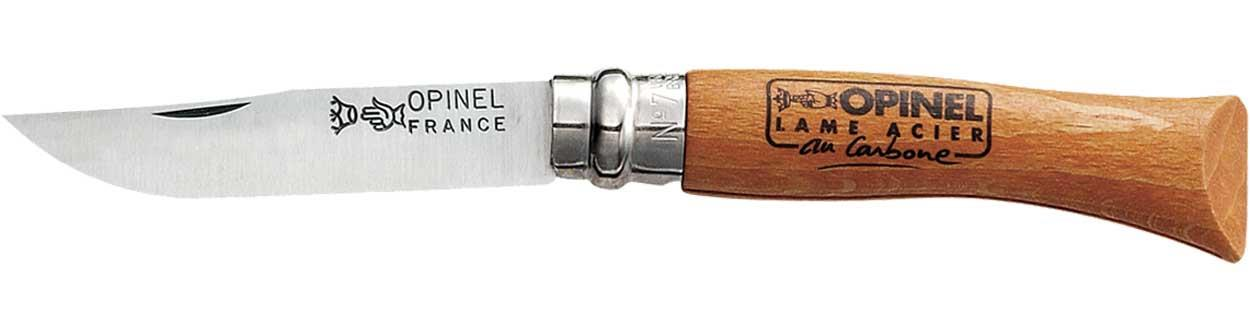 Нож Opinel №7 Carbone