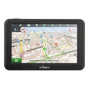 Автомобильный GPS навигатор Globex GE516 Навлюкс